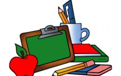 Seznam šolskih potrebščin in učbeniški sklad 2021/2022